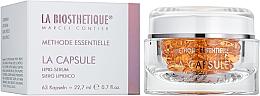 Parfumuri și produse cosmetice Capsule regenerante cu ceramide și vitamine, pentru față - La Biosthetique Methode Essentielle La Capsule Lipid Serum