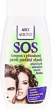 Parfumuri și produse cosmetice Șampon împotriva căderii părului - Bione Cosmetics SOS Shampoo with Anti Hair Loss Ingredients