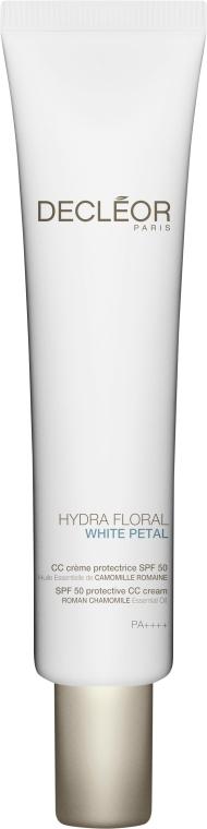 CC-Cremă de protecție SPF 50 - Decleor Hydra Floral White Petal CC Cream SPF 50 — Imagine N1