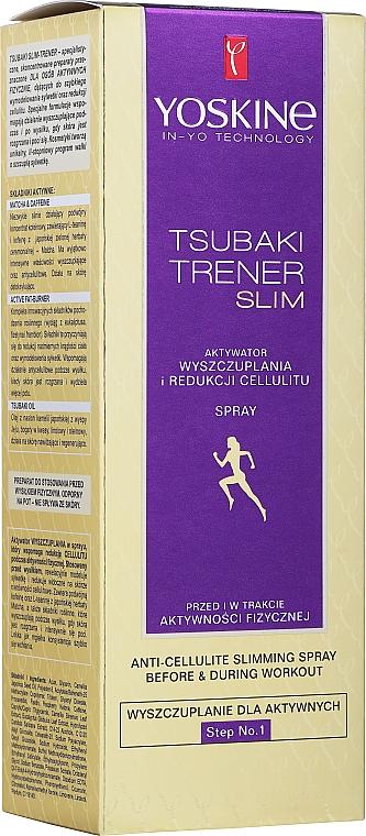 Spray activator împotriva celulitei - Yoskine Tsubaki Trener Slim Aktywator Step