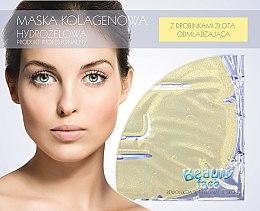 Parfumuri și produse cosmetice Mască de colagen cu particule de aur pentru față - Beauty Face Collagen Hydrogel Mask