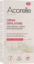 Parfumuri și produse cosmetice Крем для депиляции лица и деликатных зон - Acorelle Hair Removal Cream