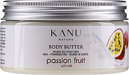 Parfumuri și produse cosmetice Masło do ciała Marakuja - Kanu Nature Passion Fruit Body Butter