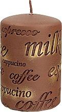 Parfumuri și produse cosmetice Lumânare aromată, 7x10 cm, maro - Artman Coffee