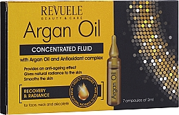 Духи, Парфюмерия, косметика Fluid cu ulei de argan - Revuele Argan Oil Ampoules Concentrated Fluid