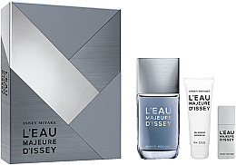 Parfumuri și produse cosmetice Issey Miyake L'Eau Majeure D'Issey - Set (edt/100ml + edt/20ml + sh/g/75ml)