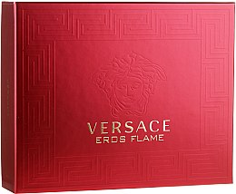 Parfumuri și produse cosmetice Versace Eros Flame - Set (edt/50ml + sh/gel/50ml + ash/balm/50ml)