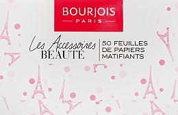Parfumuri și produse cosmetice Șervețele matifiante pentru față - Bourjois Mattifying Blotting Papers