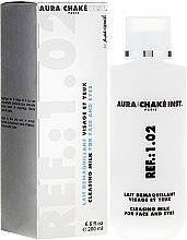 Parfumuri și produse cosmetice Lapte pentru față și ochi - Aura Chake Cleansing Milk Face & Eyes