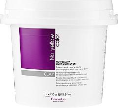 Parfumuri și produse cosmetice Pastă de păr - Fanola No Yellow Clay Lightner