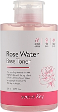 Parfumuri și produse cosmetice Toner pe bază de apă de trandafir - Secret Key Rose Water Base Toner