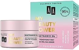 Parfumuri și produse cosmetice Cremă-gel antioxidantă de zi pentru față - AA My Beauty Power Niacynamid 5% Antioxidant Day Cream-Gel