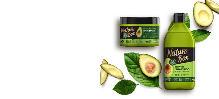 La achiziționarea a trei produse promoționale Nature Box, primești cadou produsul cu prețul cel mai mic