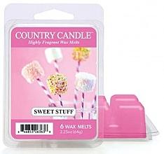 Parfumuri și produse cosmetice Ceară pentru aromalampă - Country Candle Wax Melt Sweet Stuff