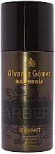 Parfumuri și produse cosmetice Alvarez Gomez Agua De Colonia Concentrada Barberia - Spray deodorant