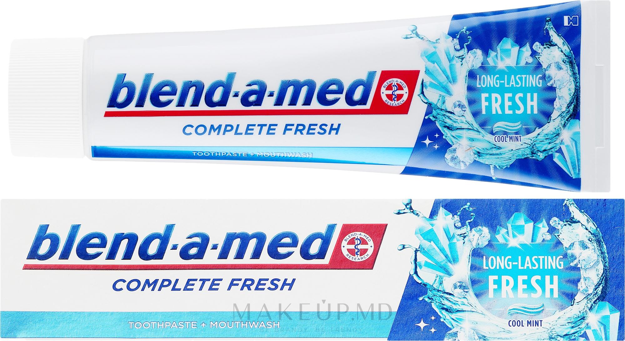 Pastă de dinți - Blend-a-med Complete Fresh Long Lasting Fresh — Imagine 100 ml