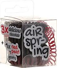 Parfumuri și produse cosmetice Elastice de păr, 4 bucăți - Hair Springs