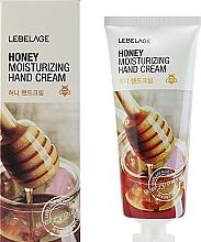Parfumuri și produse cosmetice Cremă cu miere pentru mâini - Lebelage Honey Moisturizing Hand Cream