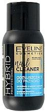 Parfumuri și produse cosmetice Soluție pentru degresarea unghiilor - Eveline Cosmetics Hybrid Professional Nail Cleaner