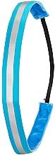 Parfumuri și produse cosmetice Bandă pentru păr, albastru neon - Ivybands Neon Blue Reflective Hair Band