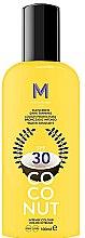 Parfumuri și produse cosmetice Cremă cu protecție solară pentru bronz intens - Mediterraneo Sun Coconut Sunscreen Dark Tanning SPF30