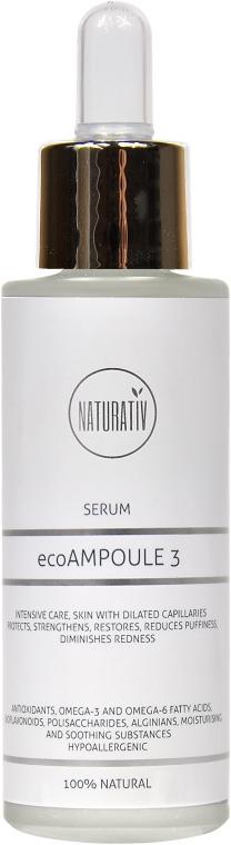 Ser pentru față - Naturativ ecoAmpoule 3 Serum — Imagine N1