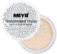 Parfumuri și produse cosmetice Pudră pulbere - Miyo Transparent Finish Powder