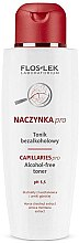 Parfumuri și produse cosmetice Tonic pentru față - FlosLek Dilated Capillaries Alcohol-Free Toner pH 5,5