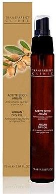 "Ulei-spray pentru corp ""Argan"" - Transparent Clinic Argan Dry Oil in Spray — Imagine N1"