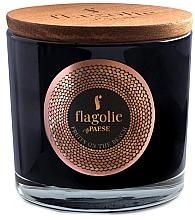 """Parfumuri și produse cosmetice Lumânare aromatică în pahar """"Fruit on the beach"""" - Flagolie Fragranced Candle Fruits On The Beach"""
