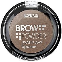 Parfumuri și produse cosmetice Pudră pentru sprâncene - Luxvisage Brow Powder