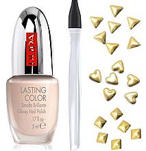 Parfumuri și produse cosmetice Set - Pupa Nail Art Mania Glam Jewels 001 Gold