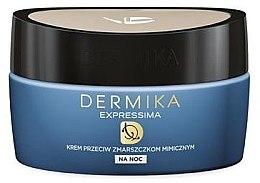 Parfumuri și produse cosmetice Cremă regeneratoare antirid - Dermika Expressima Face Cream