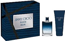 Parfumuri și produse cosmetice Jimmy Choo Man Blue - Set (edt/50ml + sh/gel/100ml)