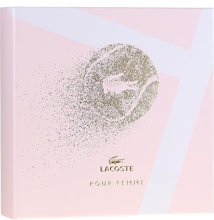 Lacoste Pour Femme - Набор (edp/50/ml + b/lot/100/ml) — фото N1