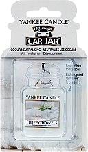 Parfumuri și produse cosmetice Odorizant pentru maşină - Yankee Candle Car Jar Ultimate Fluffy Towels