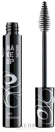 Rimel pentru gene voluminoase - Make Up Factory Mascara Lash Explosion  — Imagine 01 - Black