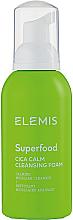 Parfumuri și produse cosmetice Spumă de curățare cu extract de Centella Asiatica - Elemis Superfood CICA Calm Cleansing Foam