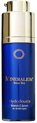 Ser facial cu Vitamina C - Mineralium Hydra Source Vitamin C Serum — Imagine N1