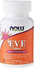 Parfumuri și produse cosmetice Multivitamine pentru femei, tablete - Now Foods Eve Womans Multi