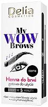 Parfumuri și produse cosmetice Henna pentru sprâncene - Delia My Wow Brows
