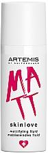 Parfumuri și produse cosmetice Fluid matifiant pentru față - Artemis of Switzerland Skinlove Mattifying Fluid