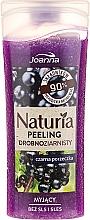 """Parfumuri și produse cosmetice Peeling fin pentru duș """"Coacăz negru"""" - Joanna Naturia Peeling"""