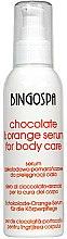 Parfumuri și produse cosmetice Ser pentru corp din ciocolată, portocală - BingoSpa