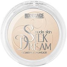 Духи, Парфюмерия, косметика Пудра компактная для лица - Luxvisage Silk Dream Nude Skin