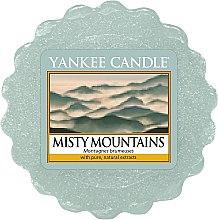 Parfumuri și produse cosmetice Ceară aromată - Yankee Candle Misty Mountains Wax Melt
