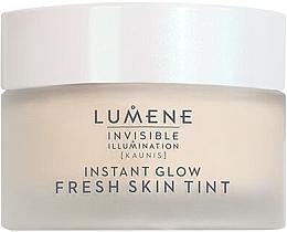 Духи, Парфюмерия, косметика Увлажняющий крем для лица с тональным эффектом - Lumene Invisible Illumination Fresh Skin Tint