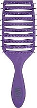 Parfumuri și produse cosmetice Pieptene - Wet Brush Pro Epic Quick Dry Brush Purple