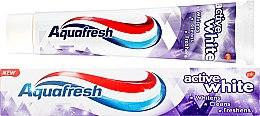 """Parfumuri și produse cosmetice Pastă de dinți """"Înălbire intensă"""" - Aquafresh Active White Toothpaste"""