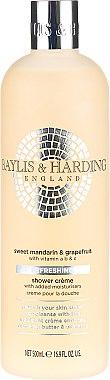 Cremă de duș - Baylis & Harding Sweet Mandarin and Grapefruit Moisturising Shower Creme — Imagine N1
